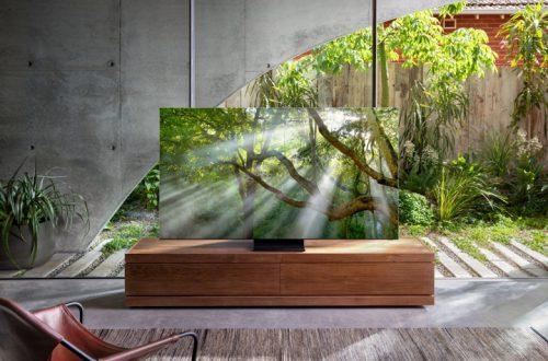 Для масштабирования видео в телевизорах Samsung QLED 8K образца 2020 года используются алгоритмы искусственного интеллекта