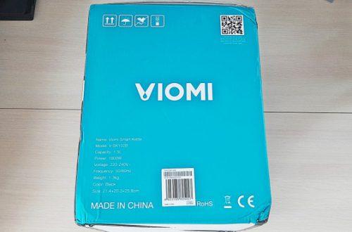 Чайник VIOMI V - SK152B. Добротный чайник со странным интеллектом.