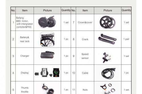 Комплект для электровелосипеда BAFANG BBS01B 36V за 600$ из РФ