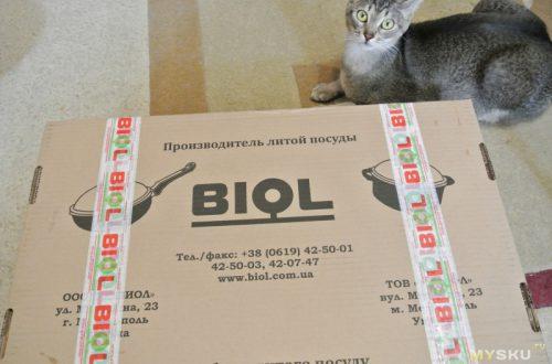 Небольшой обзор чугунных сковородок Biol.