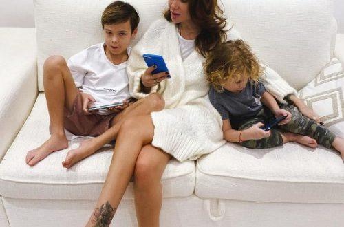 Айза Анохина отреагировала на обнародование Гуфом скандальной переписки с сыном