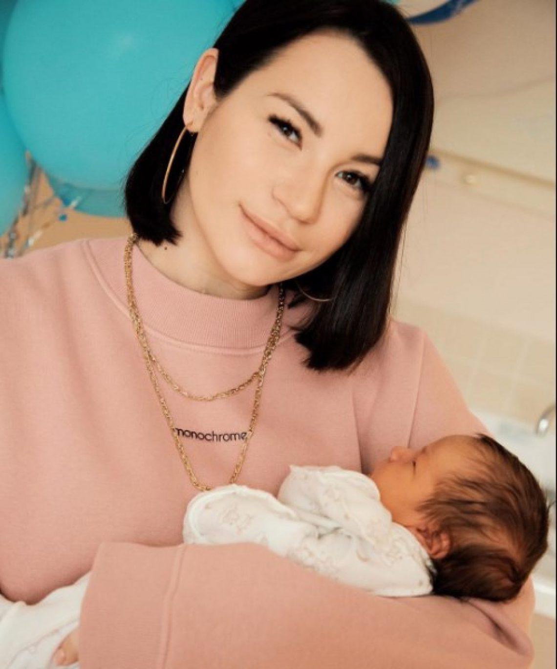 Ида Галич показала поразительно похожего на себя двухмесячного сына