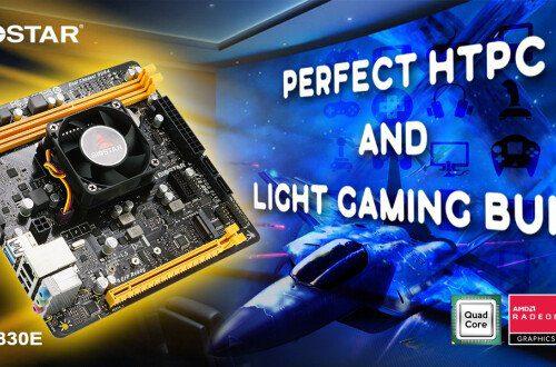 Системная плата Biostar A10N-9830E позиционируется как основа HTPC или ПК для «легких игр»
