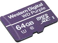 В картах памяти WD Purple QD101 Ultra Endurance microSDXC используется память с ресурсом 500 перезаписей