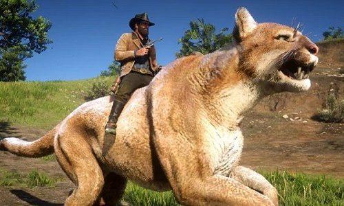 Мод Red Dead Redemption 2 позволяет управлять гигантскими животными