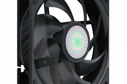 Представлены вентиляторы Cooler Master SickleFlow 120 с лопастями Air Balance
