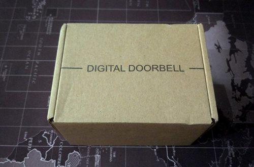 Беспроводной дверной звонок, с кнопкой без батарейки