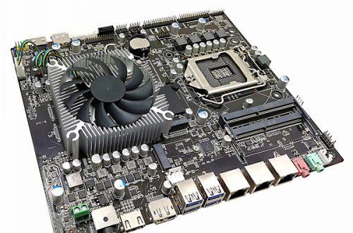 В системную плату Zeal-All ZA-KB1650 встроена видеокарта Nvidia GeForce GTX 1650