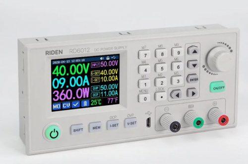 Акция на обновленный понижающий преобразователь напряжения RD 6012 для лабораторного источника питания за 51.99$