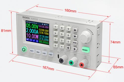 Понижающий преобразователь RD6006/RD6006-W за $49.99