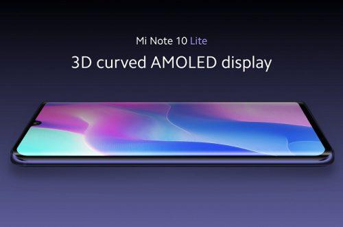 Официально: Xiaomi Mi Note 10 Lite и Xiaomi Mi CC10 — разные модели