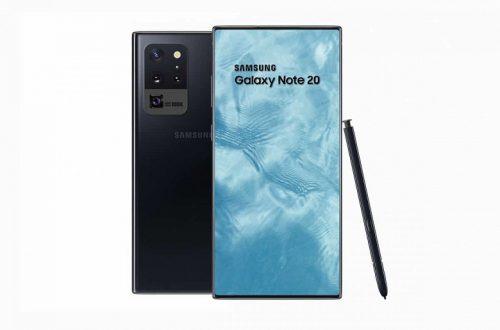 Samsung Galaxy Note 20 получит самый большой в мире подэкранный сканер отпечатков пальцев