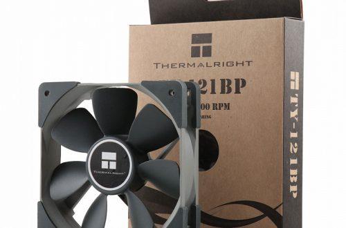 Без подсветки. Представлен вентилятор Thermalright TY-121BP FDB