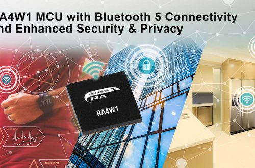 Семейство 32-разрядных микроконтроллеров Renesas RA на ядре Arm Cortex-M пополнила первая модель с поддержкой Bluetooth 5.0