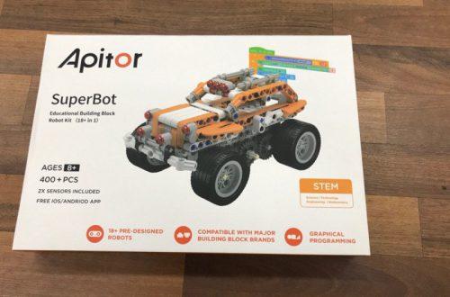 Обзор робот конструктора Apitor SuperBot. Чем занять ребенка на карантине?
