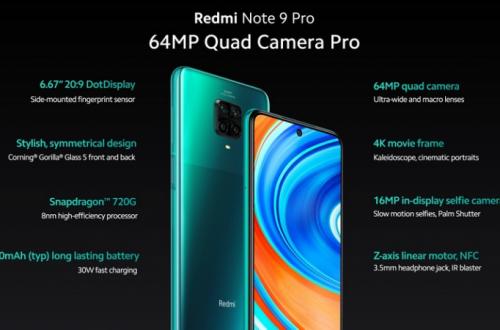 Новинка. Смартфон Xiaomi Redmi Note 9 Pro 6+64Gb. Цена 250.27$