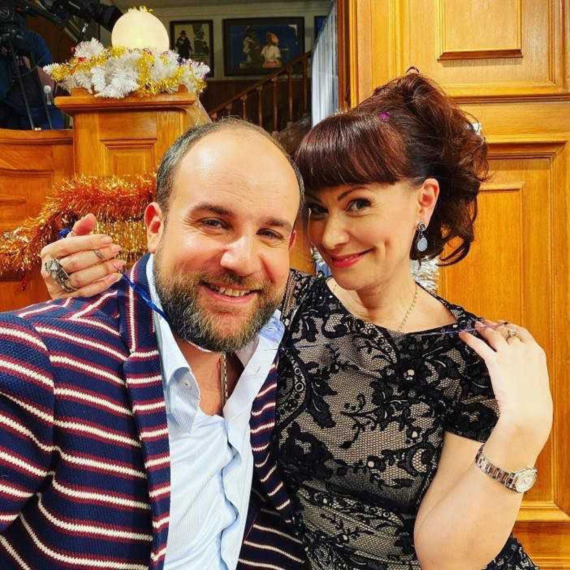 Нонна Гришаева показала копию своего мужа