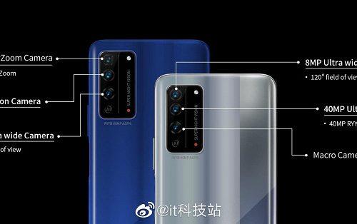 5-кратный оптический зум и 40-мегапиксельный датчик как у Huawei P30. Характеристики камер Honor X10 и X10 Pro