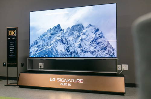 Дорогое удовольствие. Представлены самые большие телевизоры LG OLED 8K