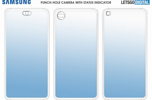 Отверстия в экране не только для фронтальных камер. Samsung хочет использовать эти области в качестве элементов интерфейса