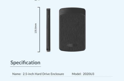 ORICO 2020U3 кейс для внешнего жесткого диска.