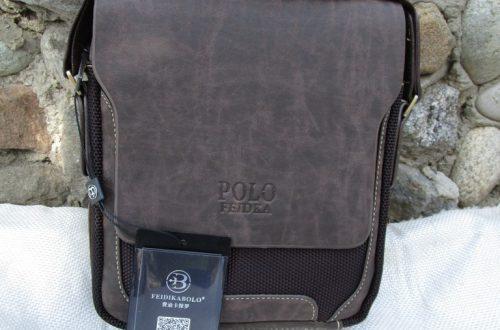 Мужская сумка Polo. Отравление сумкой.