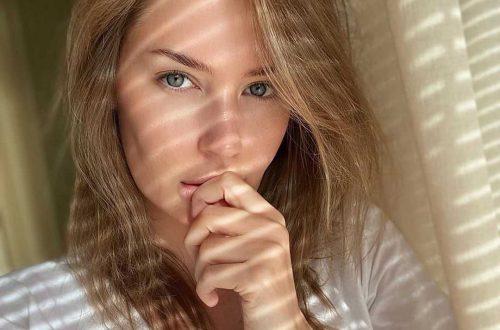 Алёна Гаврилова снялась в стильной фотосессии после расставания с Эмином Агаларовым