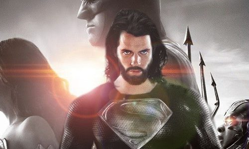 Супермен в черном костюме в новой сцене фильма «Лига справедливости»