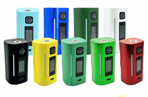 """Боксмод для электронной сигареты """"asMODus Lustro 200W TC"""". Отличный боксмод с USB Type-C, подсветкой и качественной платой."""