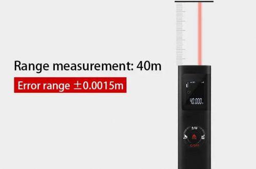 Компактный лазерный дальномер DANIU, который умеет вычислять площадь и объем, за $12.99 (+ доставка $2.20)