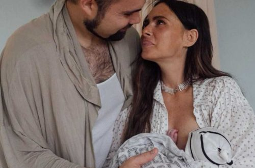 Супруг Саши Зверевой случайно назвал имя новорождённого сына