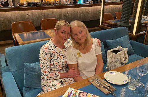 В Сети появилось эксклюзивное фото Анастасии Волочковой с матерью