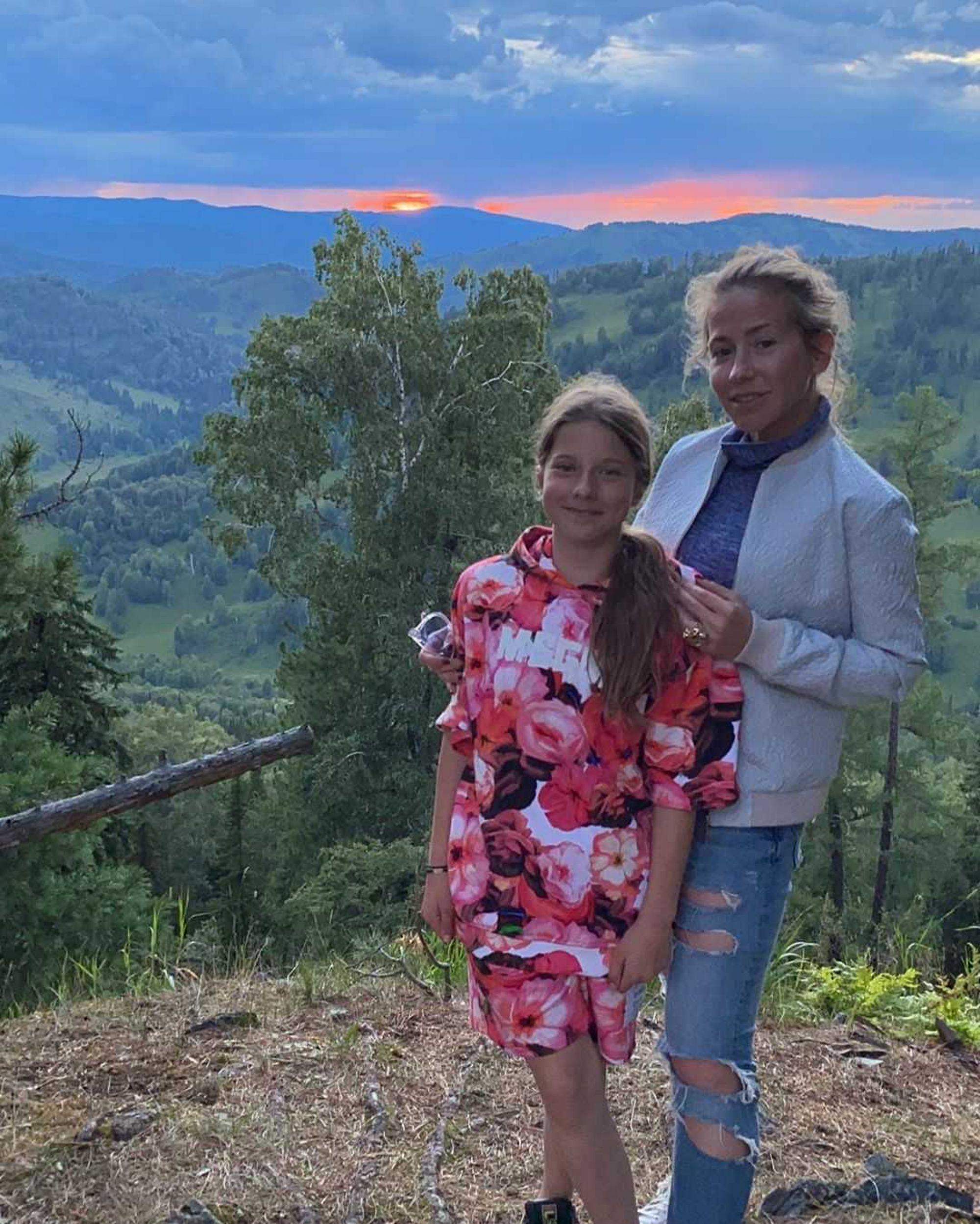 Дочь довела Юлию Барановскую до слез на отдыхе в Сочи