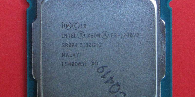 Процессор Xeon E3-1230 V2: один из лучших для LGA1155