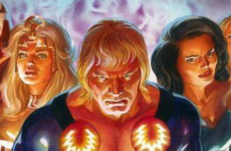 Marvel пошли на риск с фильмом «Вечные»