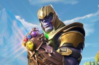 Танос может снова появиться в Fortnite