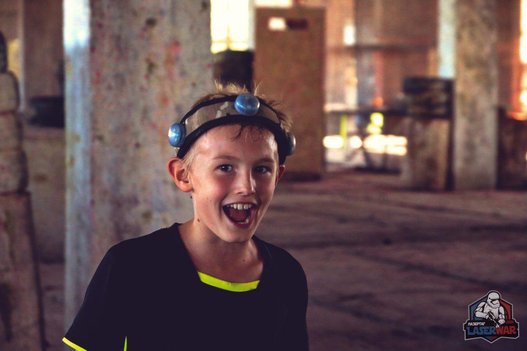 Лазертаг - прекрасный способ развлечь ребенка