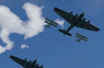 Фанаты War Thunder провели виртуальный Парад Победы