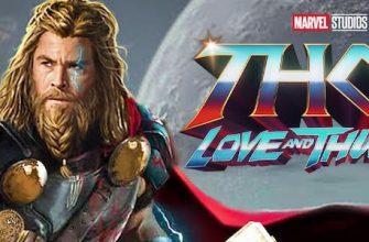 Крис Хемсворт представил «постер» фильма «Тор 4: Любовь и гром»